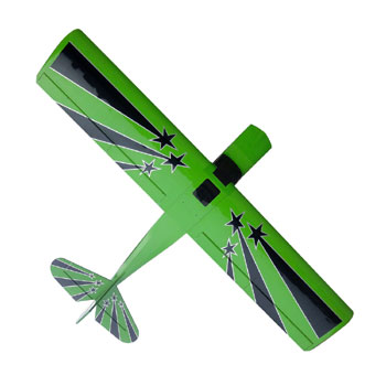 Pilot-RC 107in (28%) Decathlon - Green/Black Star Colour Scheme