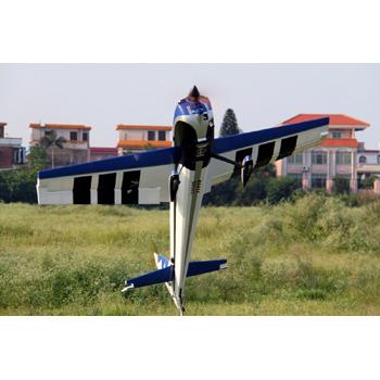 Pilot-RC 73in (24%) Edge 540 - Blue/Silver/White/Black Colour Scheme