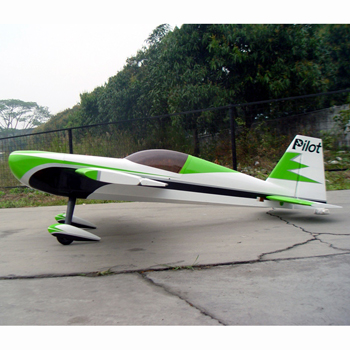 Pilot-RC 73in (24%) Edge 540 - Green/Black/Silver/White Colour Scheme