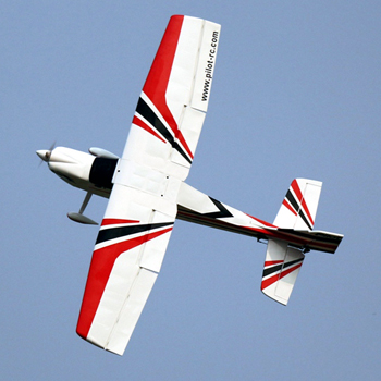 Pilot-RC 88in Sky-Wolf - Red/White Colour Scheme
