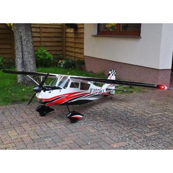 Pilot-RC 180in (47%) Decathlon - Red/White Colour Scheme