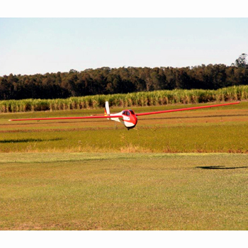 Pilot-RC 218in (33%) Bergfalke II-55 - Red/White Colour Scheme