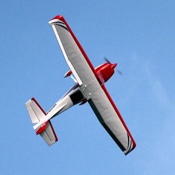 Pilot-RC 150in (35%) Skyline-182 - Red/White Colour Scheme