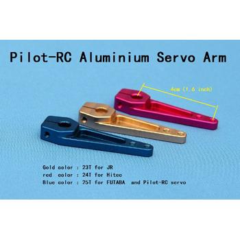 Pilot-RC Hitec Single Aluminium Servo Arm 1.6in