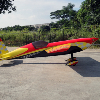 Pilot-RC 92in (31%) Extra-330SC - Red/Yellow Checker