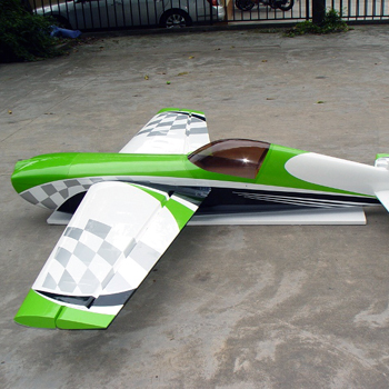 Pilot-RC 92in (31%) Extra-330SC - Green/White Checker