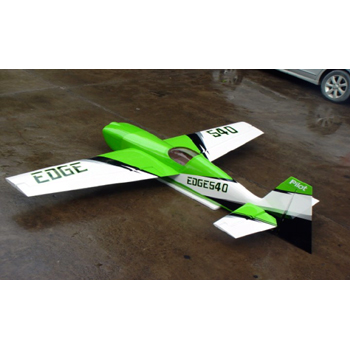 Pilot-RC 87in (30%) Edge 540 - Green/White Colour Scheme