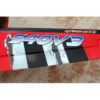 Pilot-RC V3 67in (23%) Edge 540 - Red Painted Scheme