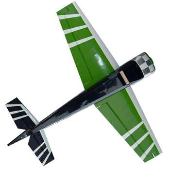 Pilot-RC 60in (20%) Extra-330SC - Green/White Checker
