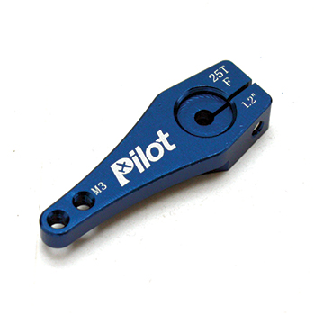 Pilot RC 25T Single Aluminium Servo Arm 1.2in