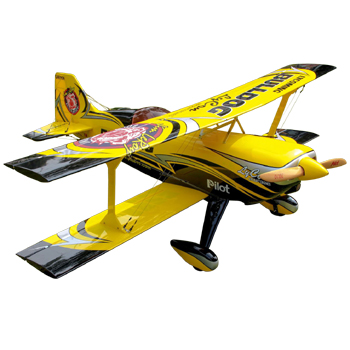 Pilot-RC 87in (40%) Pitts Challenger (03) Bulldog