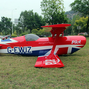 Pilot-RC 87in (100cc) Pitts Challenger (04) Union Jack