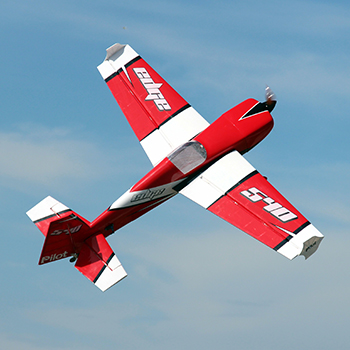 Pilot-RC Edge 540 (Red/White - Scheme 01)