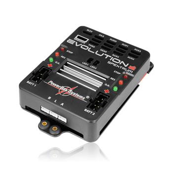 PowerBox-Systems Evolution Spektrum w/Sensor Switch & Patch Leads