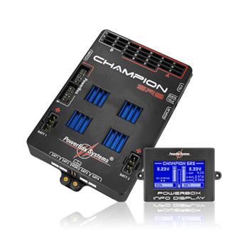 PowerBox-Systems Champion SRS w/Sensor Switch & Patch Leads