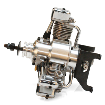 Saito FA-120R3 Four-Stroke Glow Engine