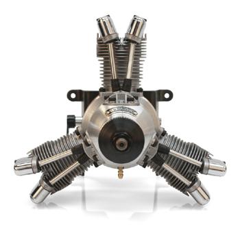 Saito FA-200R3 Four-Stroke Glow Engine
