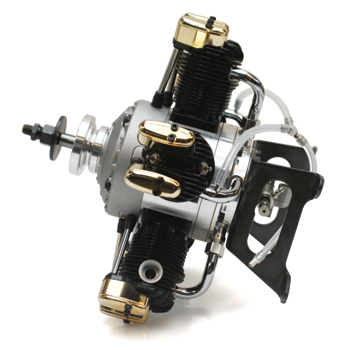 Saito FA-325R5D Four-Stroke Glow Engine