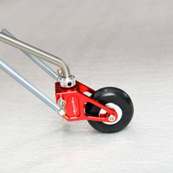 Secraft Titanium Tail Assembly - Red (40 Size)