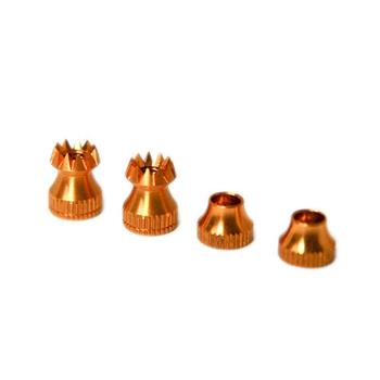 Secraft Tx Stick Ends (Pair) V2 M4 (Gold)
