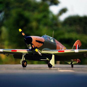 Hawker Hurricane (Battle of Britain) 63in Wingspan (EP/GP) ARF