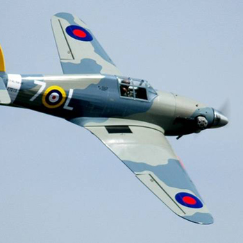 Hawker Hurricane 58.5in Wingspan