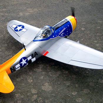 P-47D Thunderbolt (Tarheel Hal) 48in Wingspan ARF