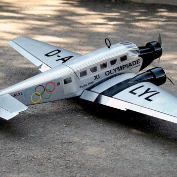 Junkers Ju-52 (Olympia) 64in Wingspan (EP/GP) ARF