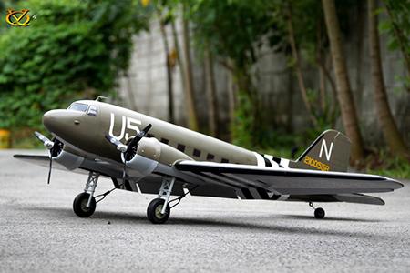 VQ Model Douglas DC-3 ARF