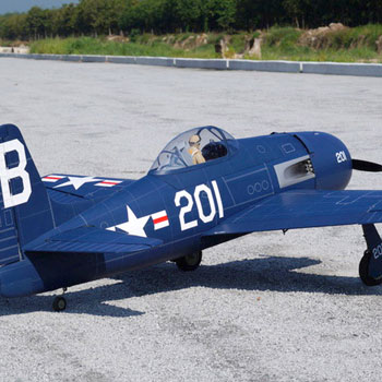 F8F Bearcat 79.5in Wingspan (EP/GP) ARF