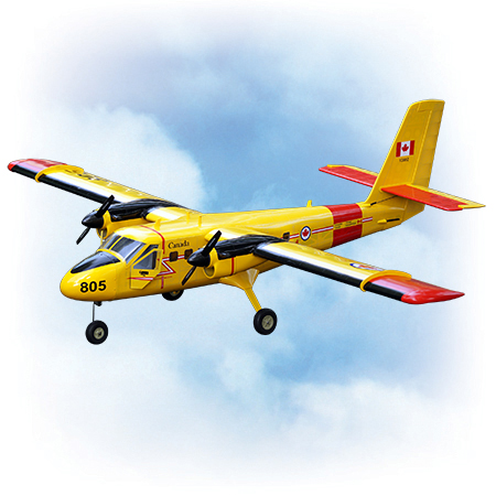 VQ Model DHC-6 Twin Otter ARF