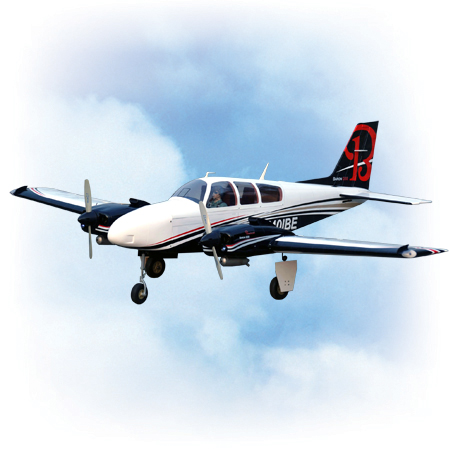VQ Model Beechcraft Baron ARF