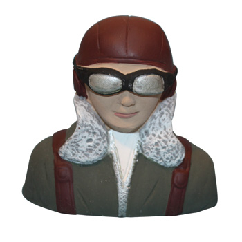 VQ Model WWII Japanese Pilot Bust