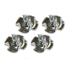 Pronged T Nuts/Blind Nut M3 (x4)