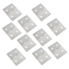 Nylon Pinned Hinges (L27 x W36mm) - White (x10)