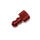 Fuel Pipe Stopper D4.5 x D7 x H13mm (Red)