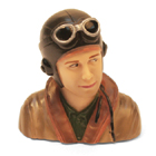 1/9th Scale WWII Pilot Bust
