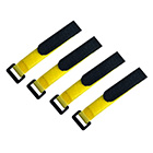 300mm Battery Strap Set (4 Pieces) (Yellow)