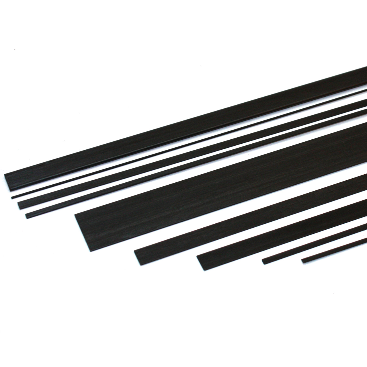 Carbon Fibre Flat Strip