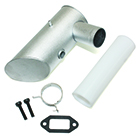 DLE-120 Muffler (One Hole)