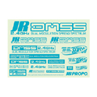 JR DMSS Logo 'Turqoise Blue' Sticker Sheet