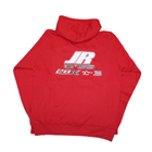 JR Propo Full Zip Hoodie (Red) - XL
