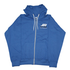 JR Propo Full Zip Hoodie (Royal Blue) - Large