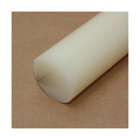 1 metre x 40mm diameter Natural Nylon 66 Rod