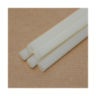 1 metre x 6mm diameter Natural Nylon 66 Rod