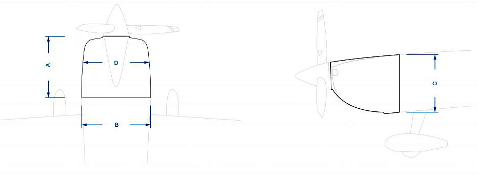 Pilot-RC Slick Cowl Size