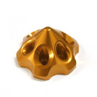 Secraft 3D Spinner - Large (Gold)