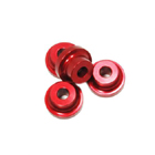 Stand Off - 10mm (5mm, 10-24 Hole) (Red)