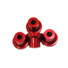 Stand Off - 15mm (5mm, 10-24 Hole) (Red)