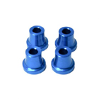 "Stand Off - 15mm (6mm, 1/4"" Hole) (Blue)"